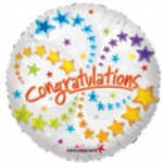 "CONGRATULATIONS BALLOON 18""  17936-18"